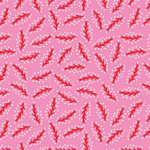 LeavesRed-Pink-Veins-Mix1