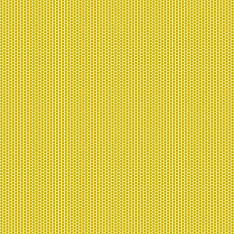 Pollen Dots - Buttery Yellow on Antique Gold fabric by rhondadesigns on Spoonflower - custom fabric