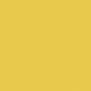 Pollen Dots - Buttery Yellow on Butterscotch