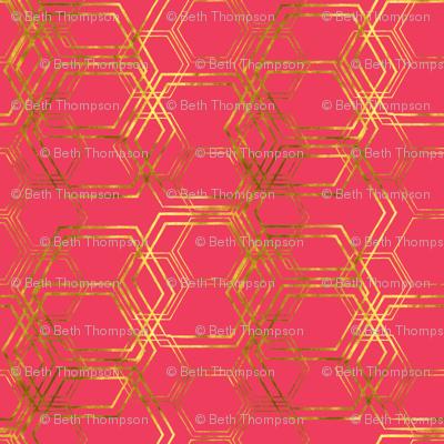 Hexagold Pink