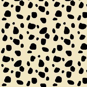Cheetah spots  - ivory