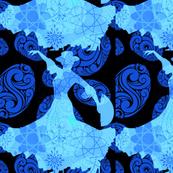 Bright Blue Dancer