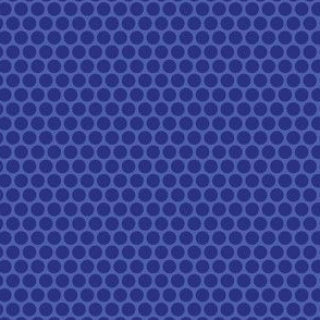 Blueberry Tone Honeycomb Dot