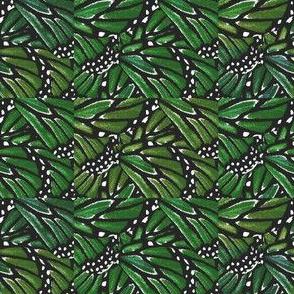 Green Butterfly Quilt