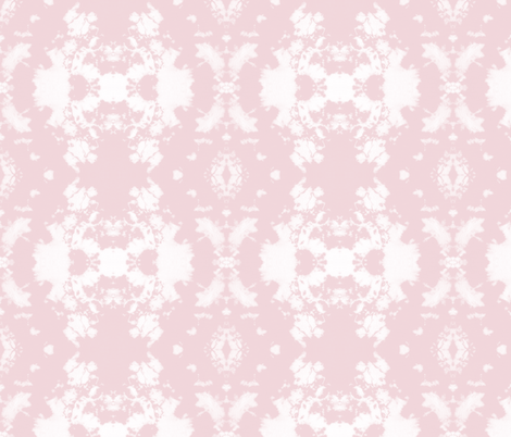 Shibori 7647 Rosa l Michelle Mathis  fabric by michellemathis on Spoonflower - custom fabric