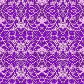 Pink and Purple Geometric World