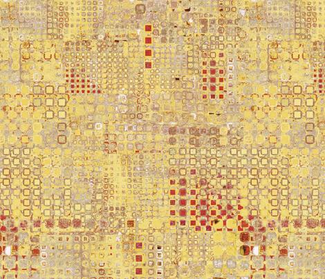 Soft City - gold fabric by ormolu on Spoonflower - custom fabric