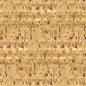 Light Cork Horizontal|| Tan brown gold _Miss Chiff Designs