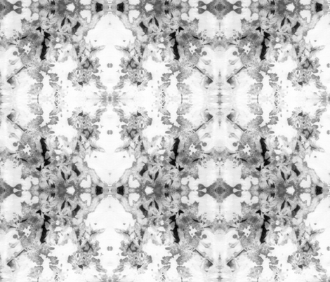 Ice Dyeing Grey and Black   Michelle Mathis_ fabric by michellemathis on Spoonflower - custom fabric