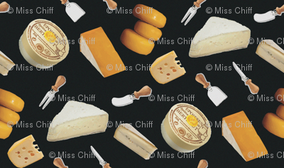 16-20D French Cheese France Paris Food picnic party wine_Miss Chiff Designs