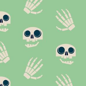 chatty skulls & hands