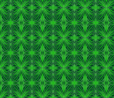 Lush Leaves in Shadow fabric by rhondadesigns on Spoonflower - custom fabric