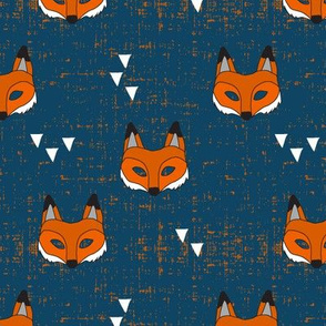 Fox mask || blue