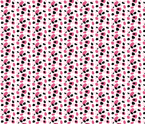 pink  licorice - SMALL fabric by drapestudio on Spoonflower - custom fabric
