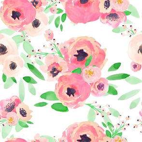 Indy Bloom Design Watermelon florals