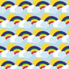 Sunny Skies and Rainbows