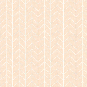 Chevron Arrow // Blush Linen