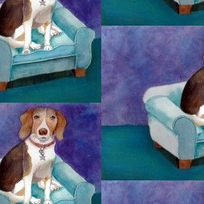 Watercolor Beagle