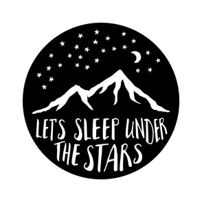 Let's Sleep Under the Stars || 1 yard blanket