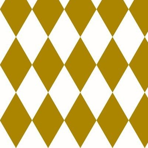 Harlequin diamonds - golden yellow