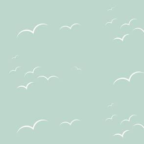 Birds - mint || by sunny afternoon