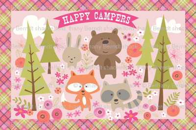 Happy Camper Blanket 54