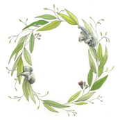 Koala Wreath