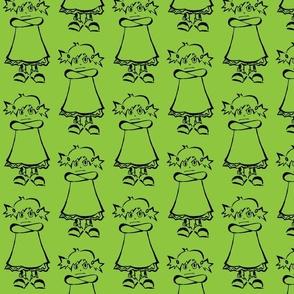 Girl-green