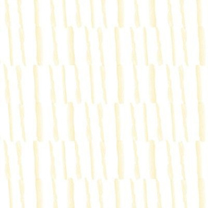 Abstract Yellow Gold Stripe || Low Volume Tan beige White Neutral Watercolor _ Miss Chiff Designs