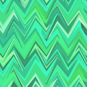 green tourmaline zigzag
