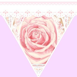 Bridal Rose Delicate Pink Lace