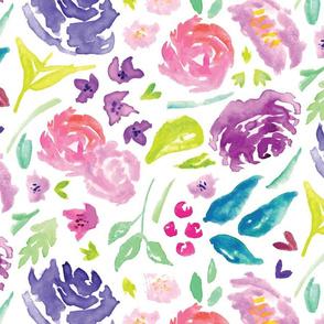 Pink-Purple Floral 1