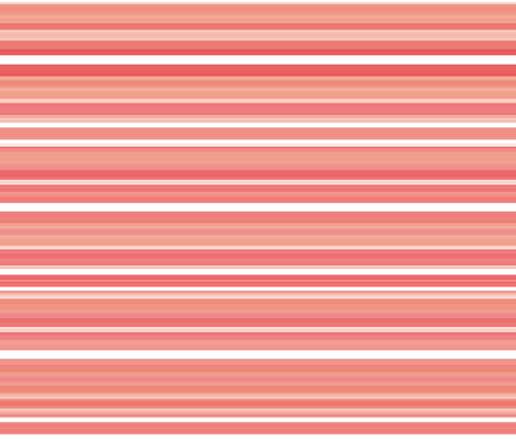 coral gemstone stripe fabric by weavingmajor on Spoonflower - custom fabric