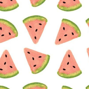 watercolor watermelons