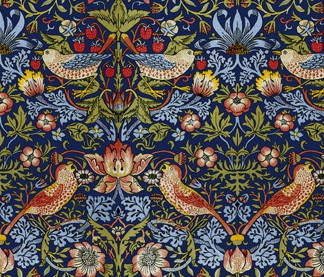 Rwilliam_morris___strawberry_thief___bright__blue___peacoquette_designs___copyright_2015__shop_preview