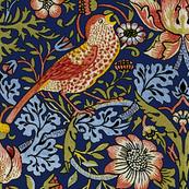 William Morris Strawberry Thief Bright Blue