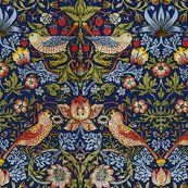 Rwilliam_morris___strawberry_thief___bright__blue___peacoquette_designs___copyright_2015__shop_thumb