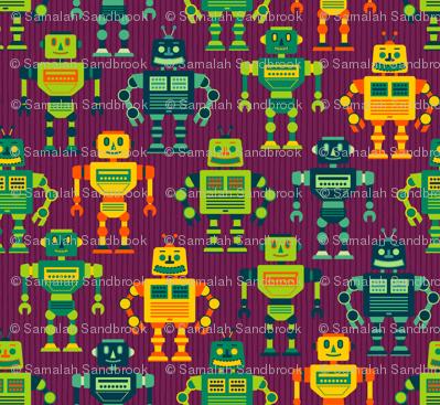 Robot Cohort - Purple