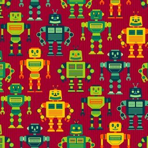 Robot Cohort - Red