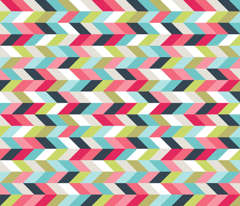Herringbone in Chalk Paints fabric by carissa_lee on Spoonflower - custom fabric