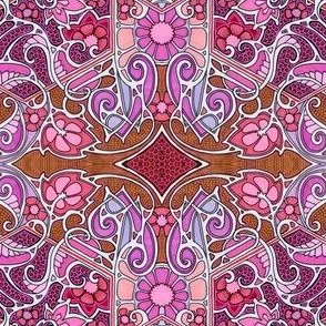 The Tangled Web of Paisley Leaves