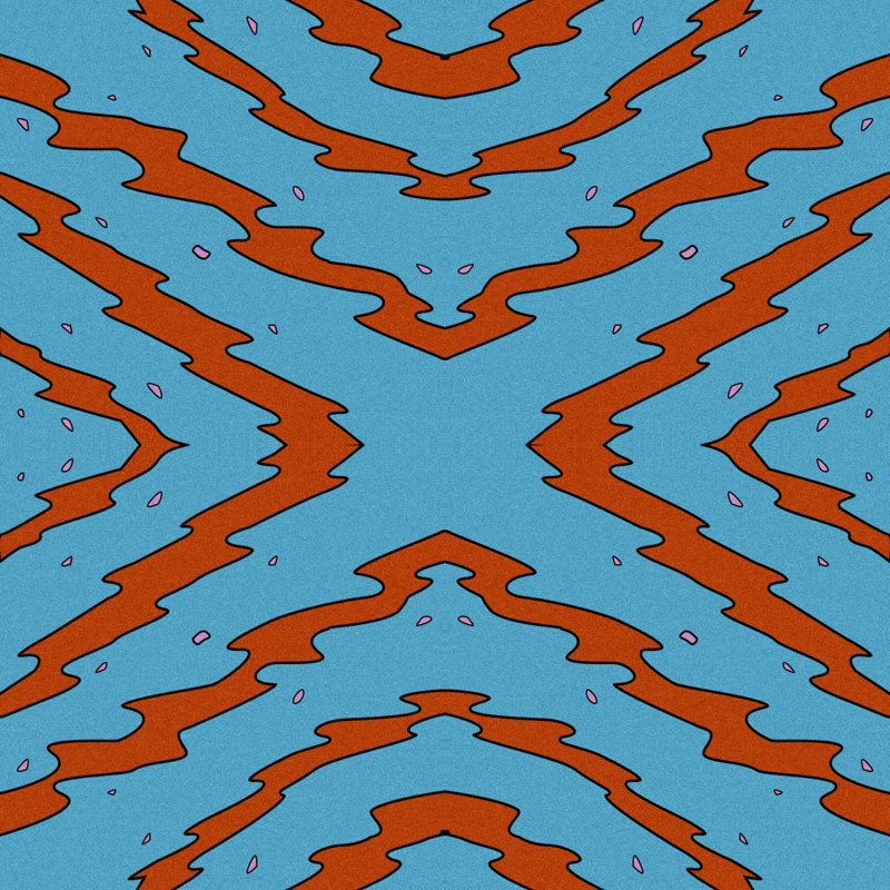 Tv Lines Fabric Chrishanley Spoonflower