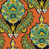 Pumpkin Ikat_Miss Chiff Designs
