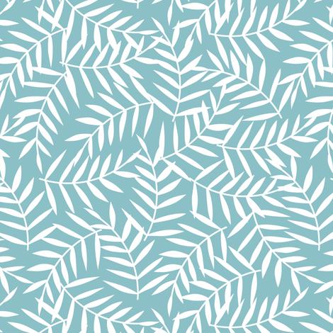 Tropical Leaves fabric by innamoreva on Spoonflower - custom fabric