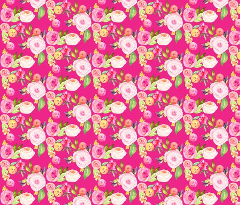 Rrrwatercolor_floral_pink_and_yellow_magenta_shop_preview
