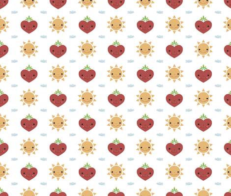 Happy Day! fabric by batóry on Spoonflower - custom fabric