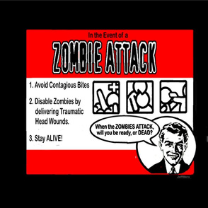 Zombie Attack Pillows/Totes!