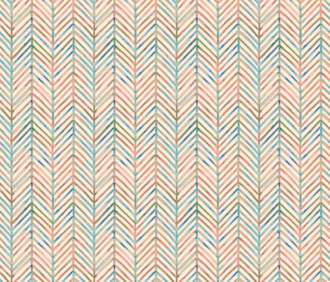 pine chevron  fabric by designed_by_debby on Spoonflower - custom fabric