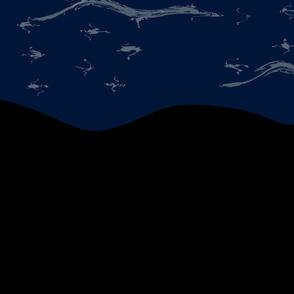 Night Scene Wallpaper Extra Dolphin