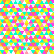 Triangle Pattern in Summer Brights